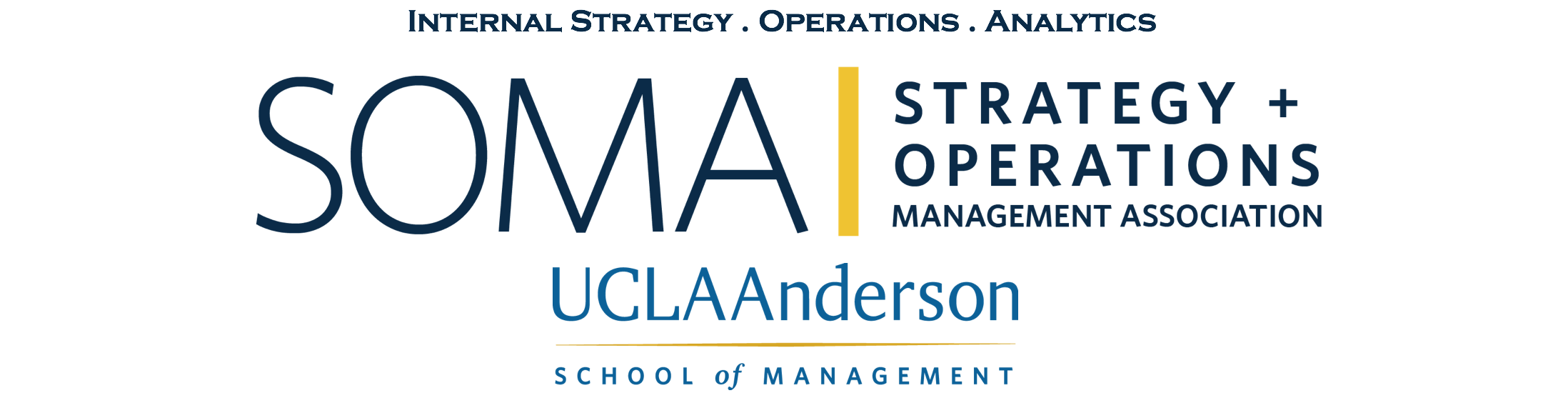 Strategy & Operations Management Association | UCLA Anderson